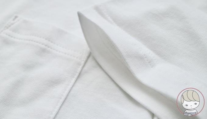 無印良品「太番手天竺編み クルーネック半袖Tシャツ」
