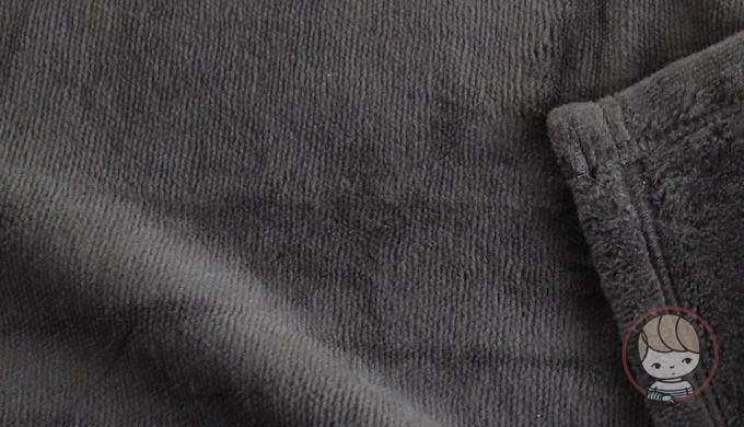 無印良品「綿シール織毛布」(2016年購入)