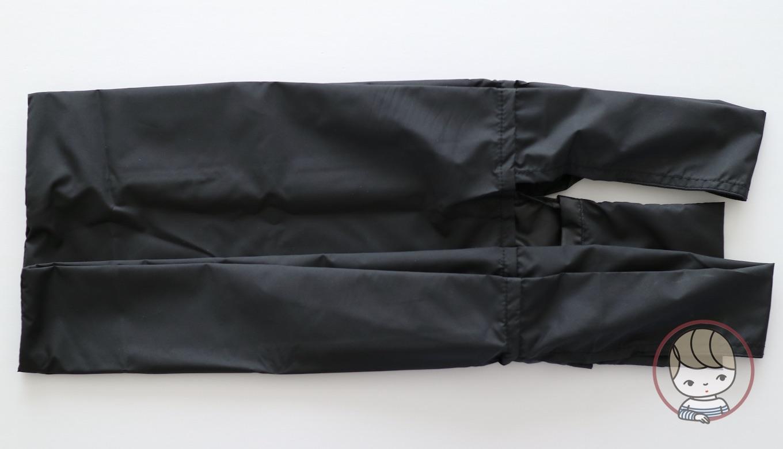 無印良品「ポケッタブルバッグ」たたみ方#02