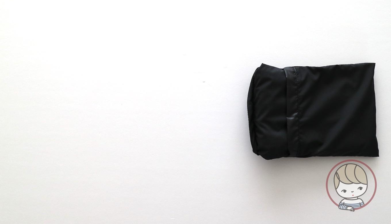 無印良品「ポケッタブルバッグ」たたみ方#06