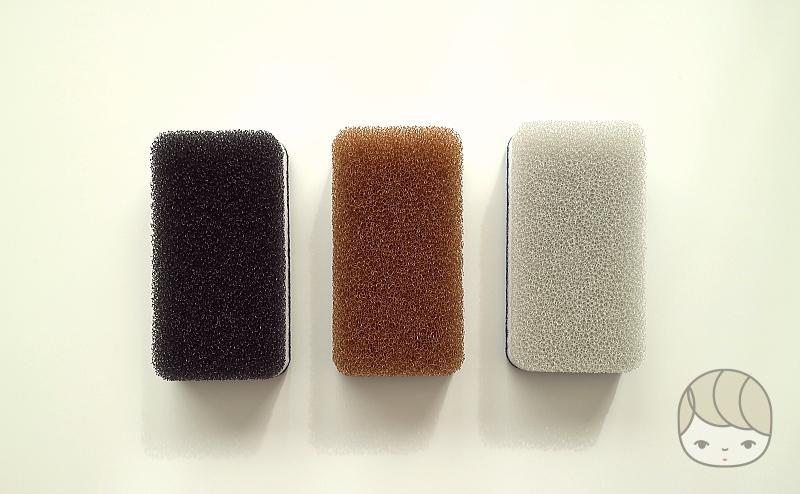 ダスキン「台所用スポンジ3色セット抗菌タイプ モノトーン」