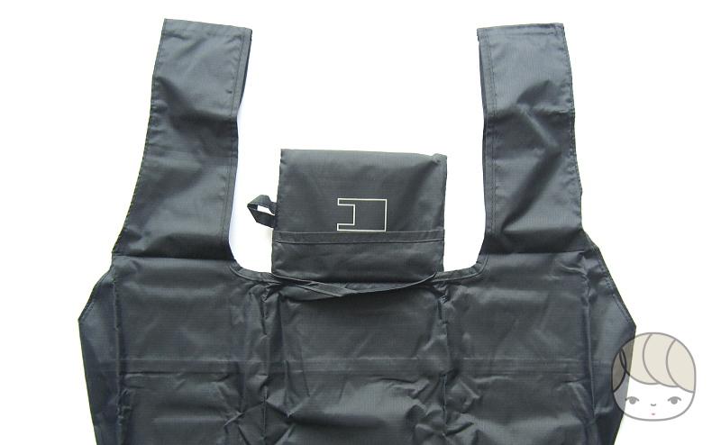 買い物バッグの持ち手は幅広
