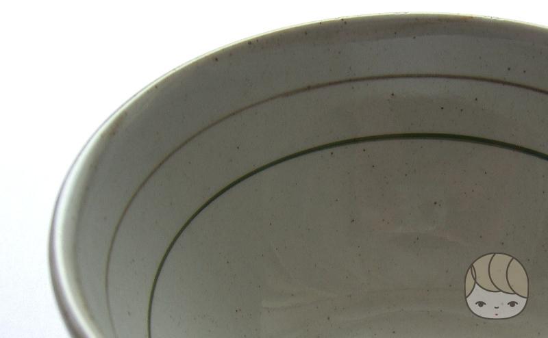 「タニタ食堂のお茶碗」の内側