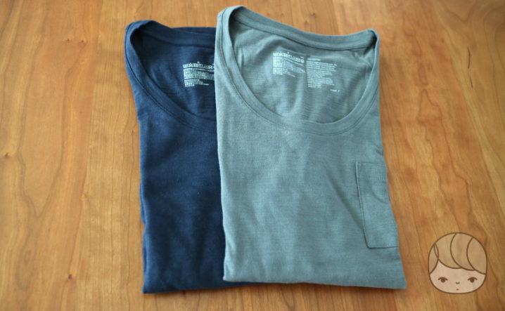 無印良品「オーガニックコットンムラ糸クルーネック半袖Tシャツ」