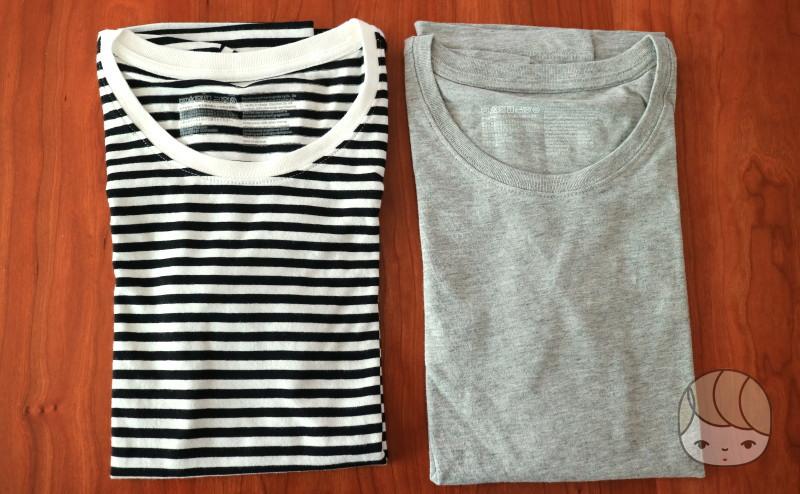 無印良品「半袖Tシャツ」2枚で1,490円で選んだもの