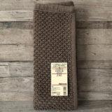 無印良品「インド綿手織パイルバスマット・S」のブラウン